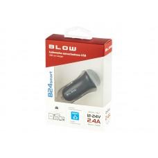 Lādētājs USBx1  2.4A Blow